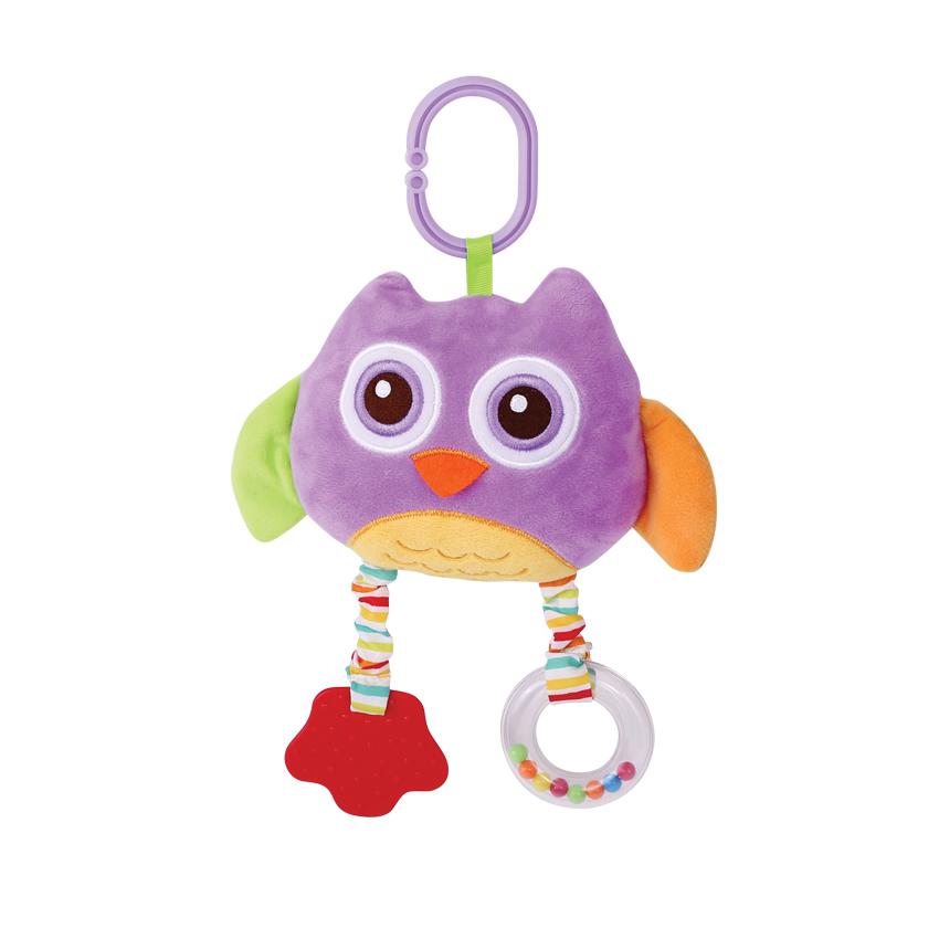 PLUSH MIRROR - PURPLE OWL