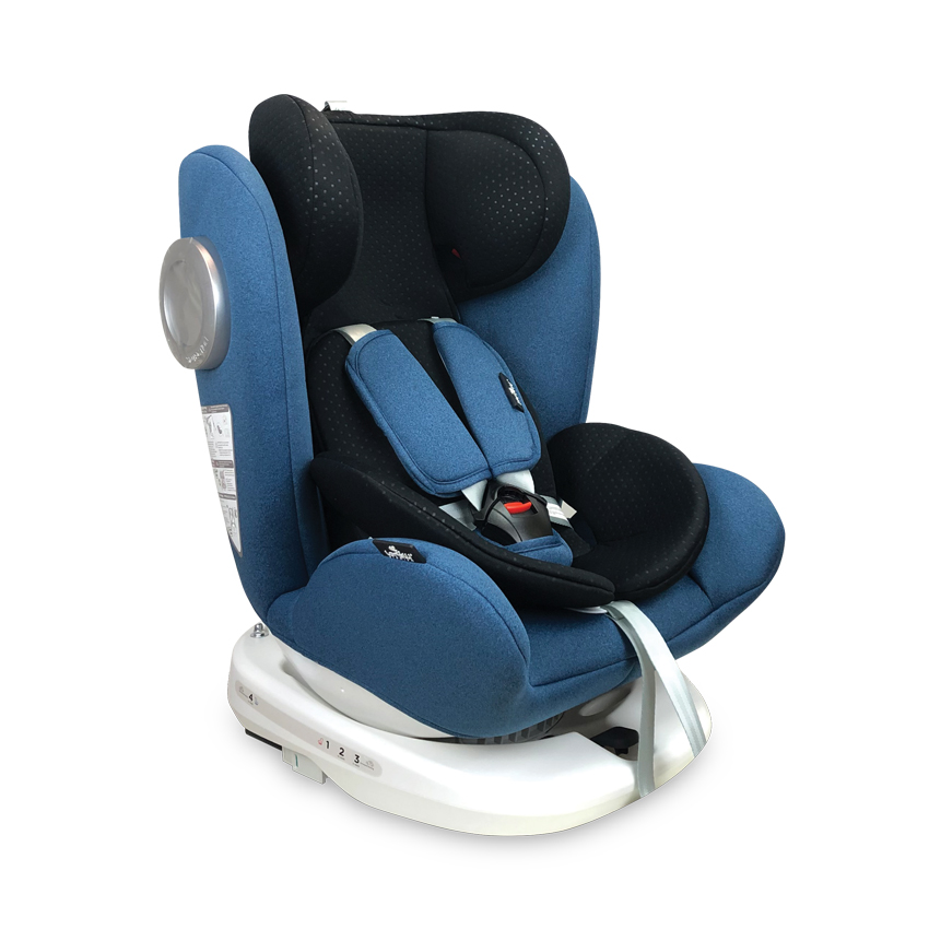 Autosedačka LUSSO SPS ISOFIX 0-36 KG BLUE&BLACK