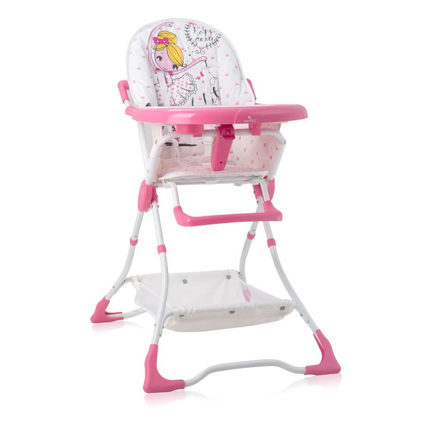 Jídelní židlička Lorelli BONBON PINK BALLET