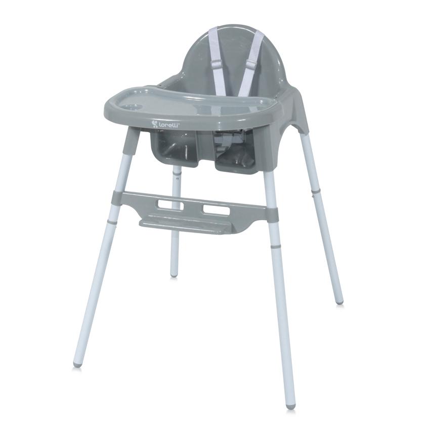 Jídelní židlička Lorelli AMARO GREY