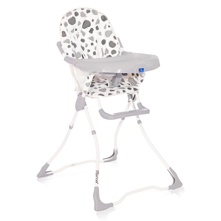 Jídelní židlička Lorelli MARCEL GREY FRUITS
