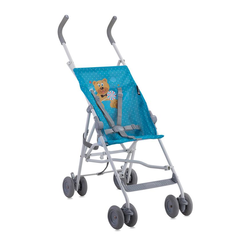 Kočárek Lorelli FLASH BLUE HELLO BEAR