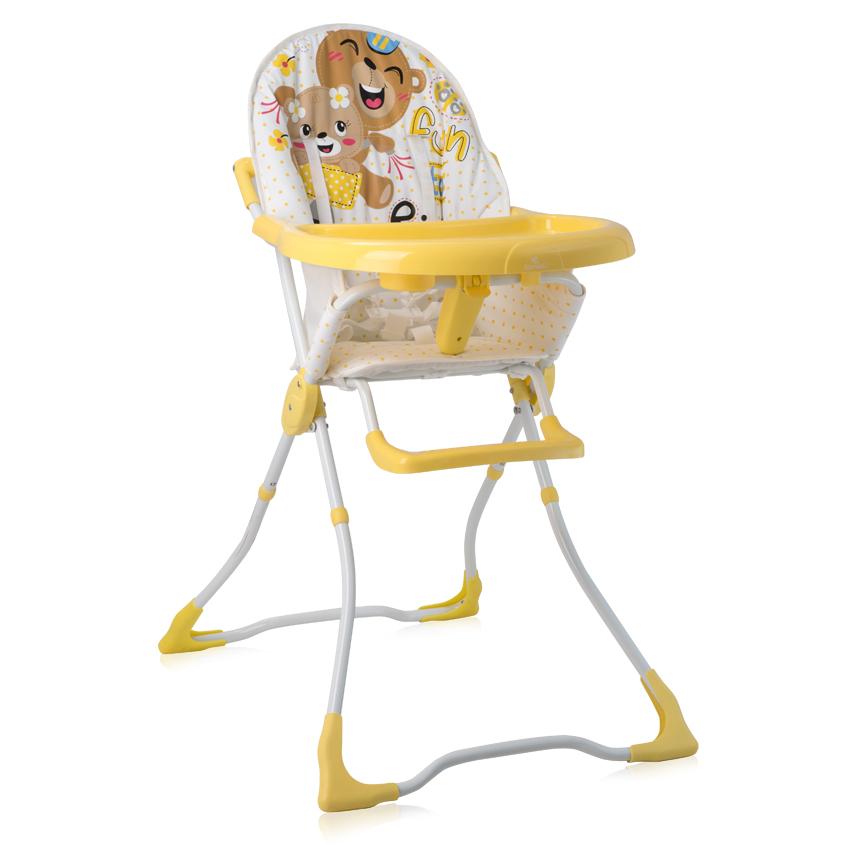 Jídelní židlička MARCEL YELLOW BEARS