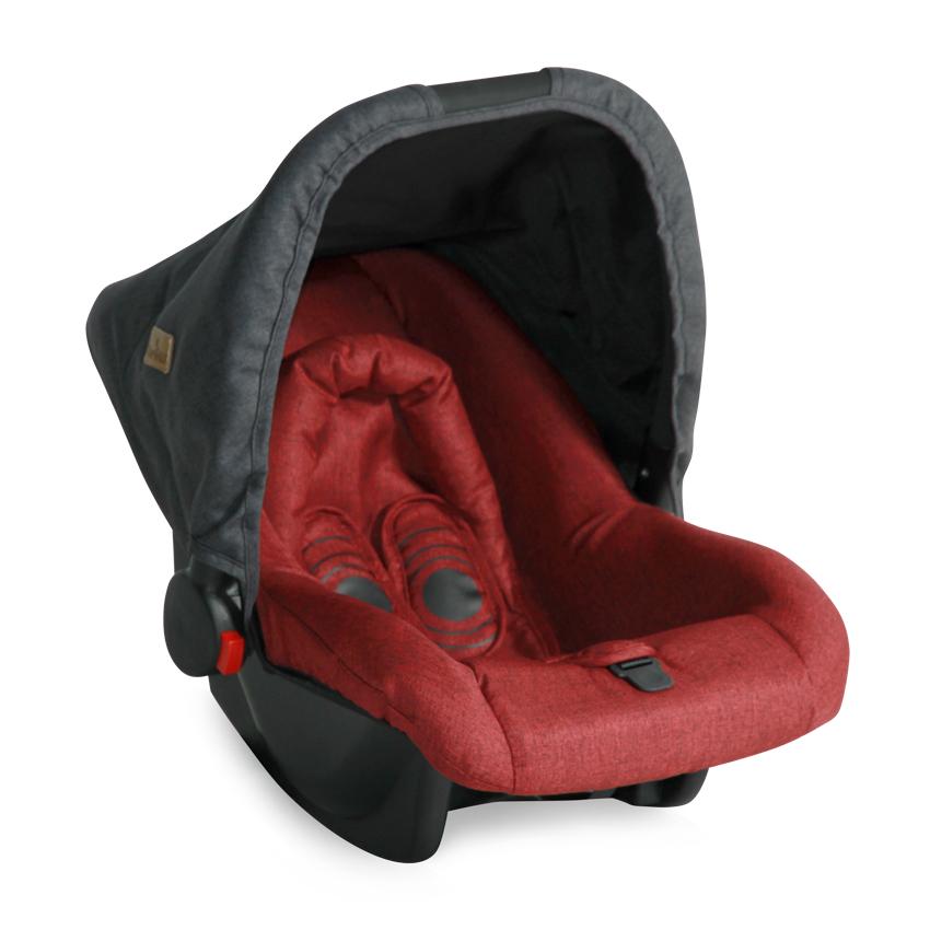 Autosedačka BODYGUARD BLACK&RED 0-10KG