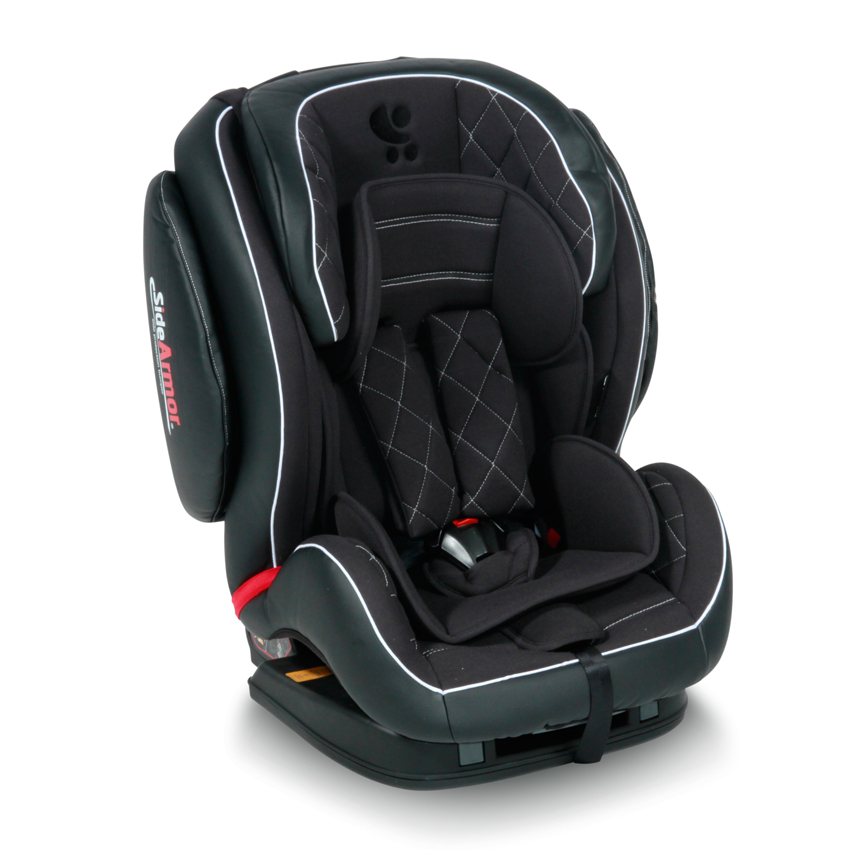 Autosedačka Lorelli MARS ISOFIX BLACK LEATHER 9-36 KG