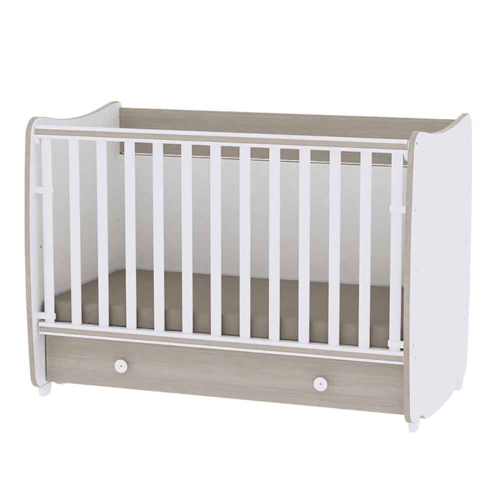 Multifunkčná detská postieľka Lorelli DREAM New 60x120 WHITE/AMBER