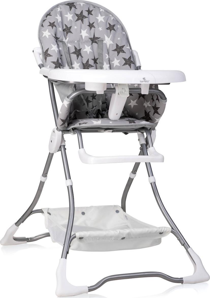 Jídelní židlička Lorelli BONBON GREY STARS