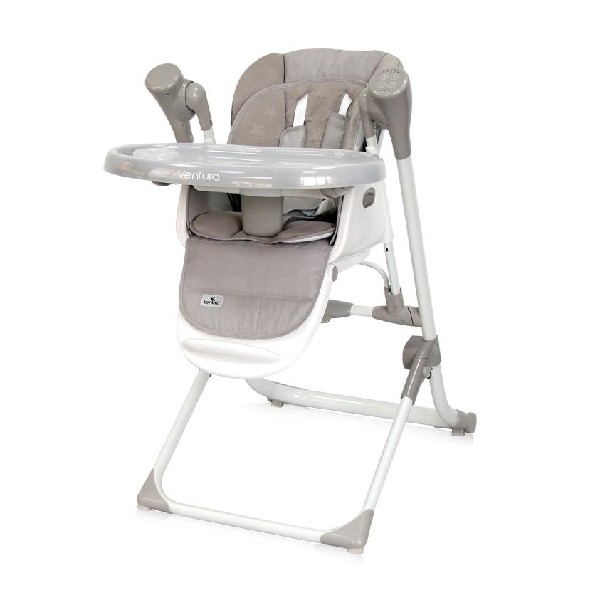 2v1 Jídelní židlička-houpačka Lorelli VENTURA STRING STARS