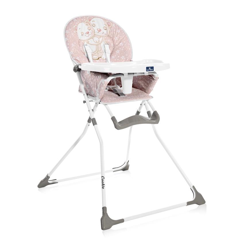 Jedálenská stolička Lorelli COOKIE PINK BEARS