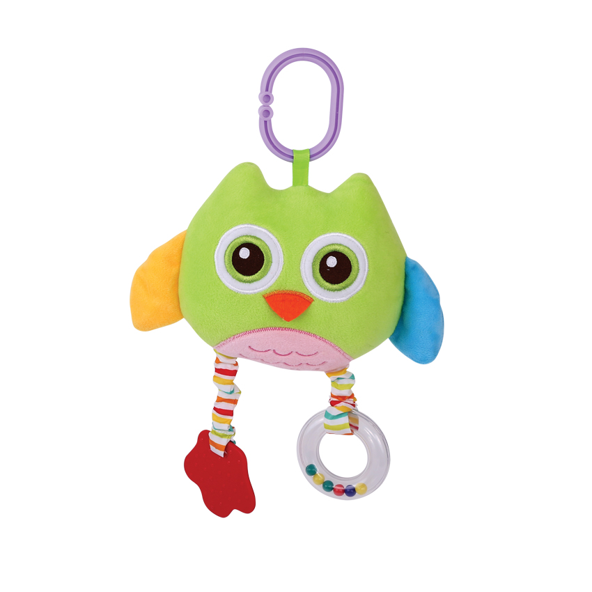 PLUSH MIRROR - GREEN OWL