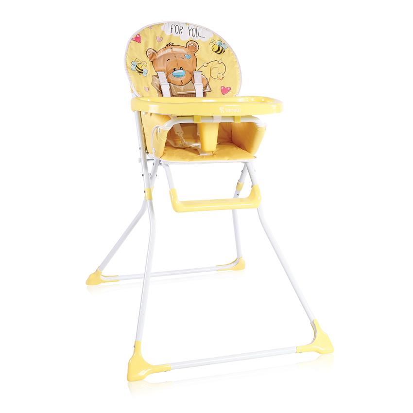 Jídelní židlička Lorelli COOKIE YELLOW BEAR