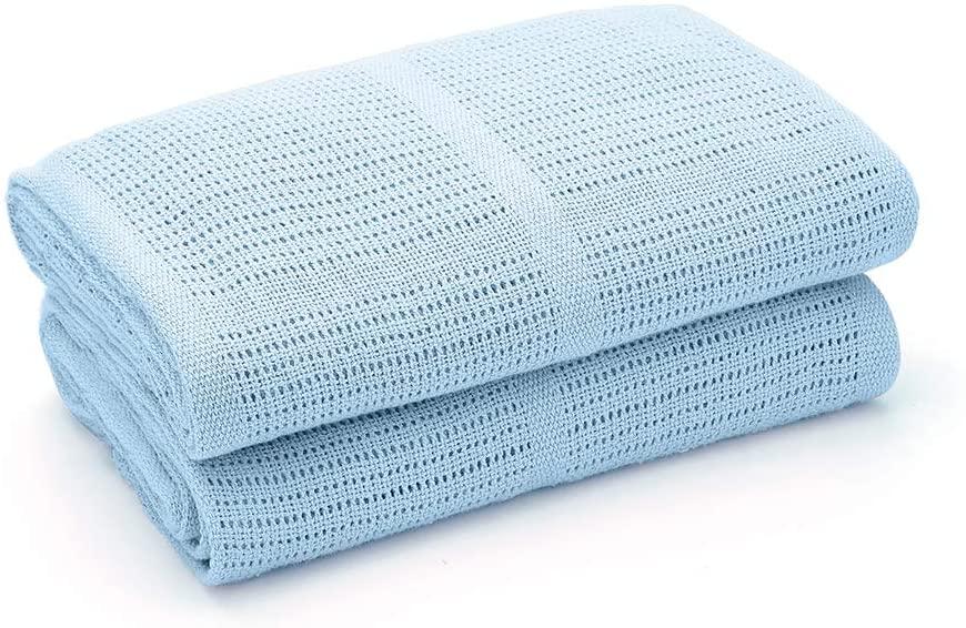 Detská bavlnená deka Lorelli 75x100 CM BLUE