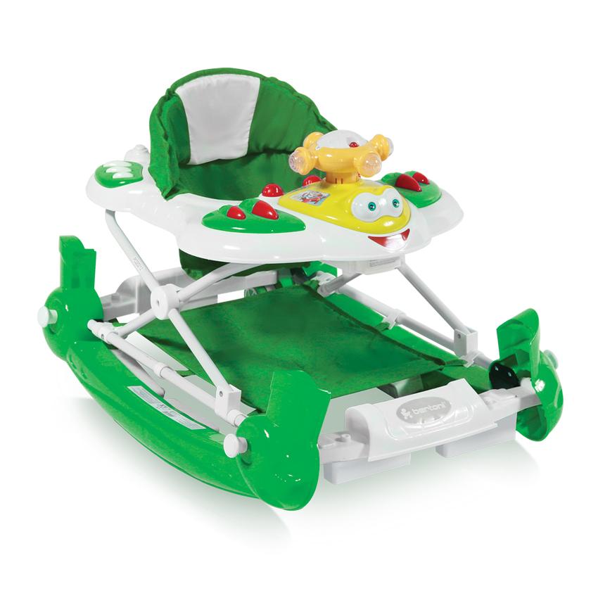 Dětské Chodítka SWING HELICOPTER GREEN EN-STANDART