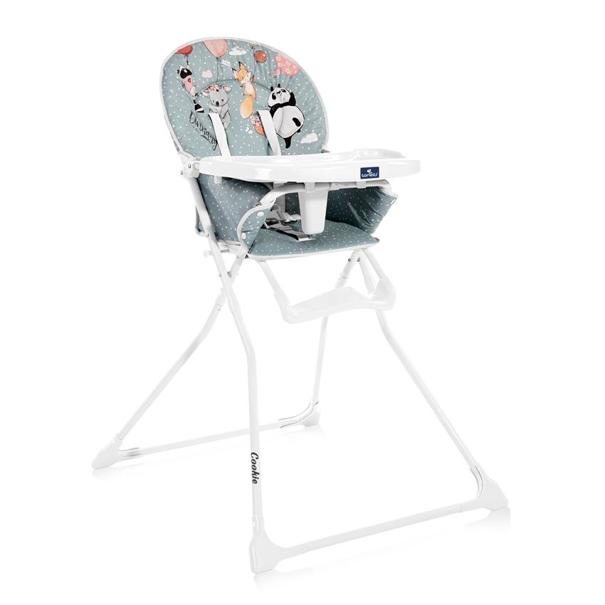 Jídelní židlička Lorelli COOKIE GREEN BIRTHDAY