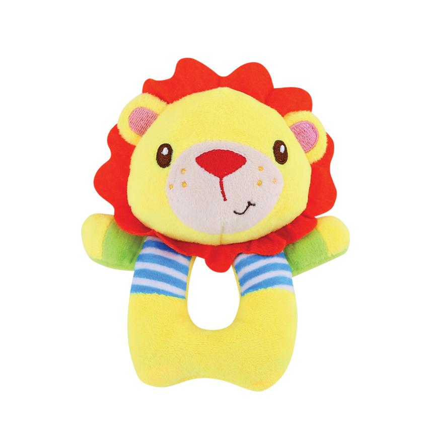 Ruční chrastítko MUFFY LION