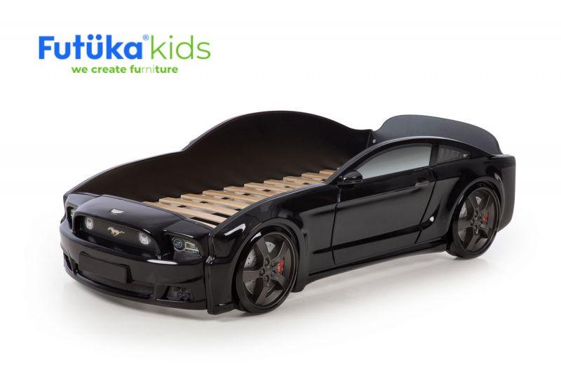 Postel auto LIGHT 3D F-Mustang černá