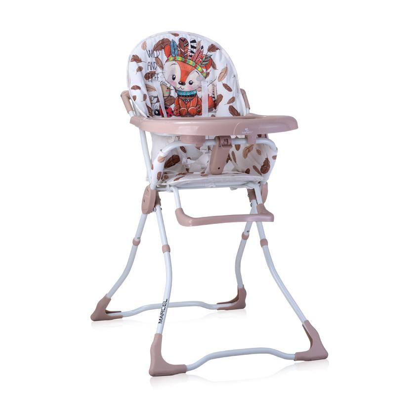 Jídelní židlička Lorelli MARCEL BEIGE FOXY