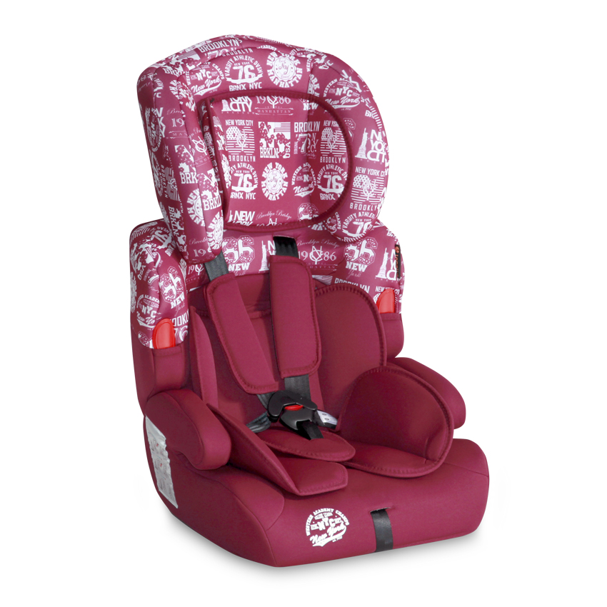 Autosedačka Lorelli KIDDY 9-36 KG RED