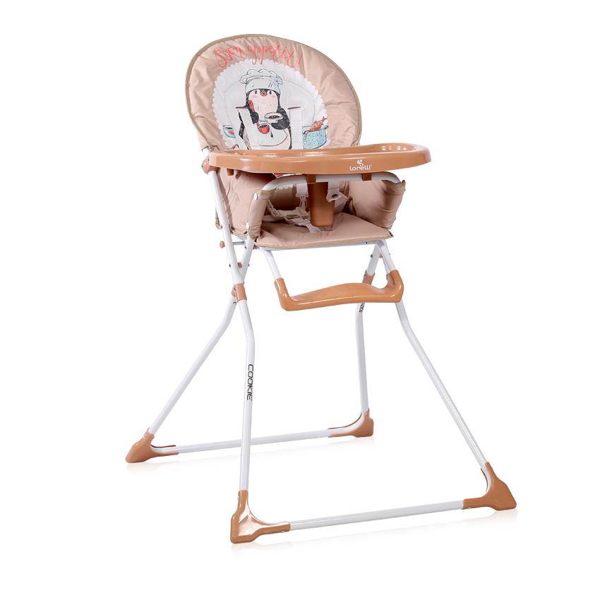 Jídelní židlička Lorelli COOKIE BEIGE PENGUIN