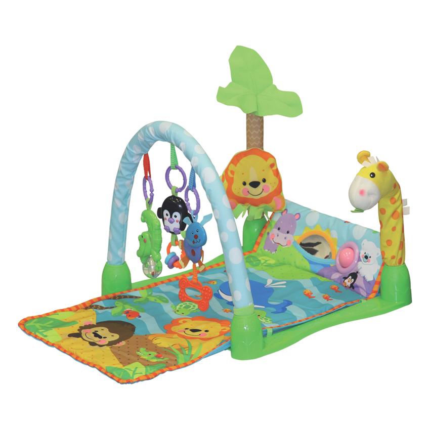 Hrací deka BABY PLAY GYM 63503  100x44
