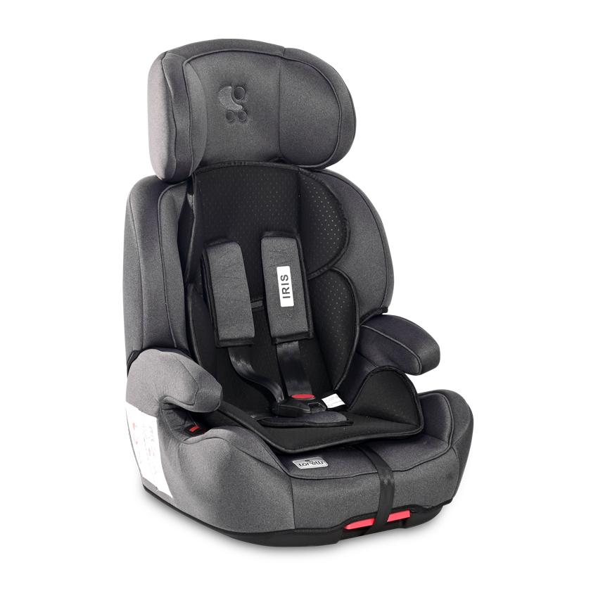 Autosedačka Lorelli IRIS ISOFIX 9-36 KG NEW BLACK