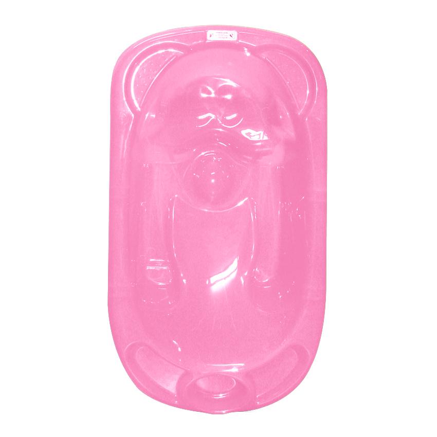 Dětská vanička Lorelli ANATOMIC PINK + Stojan