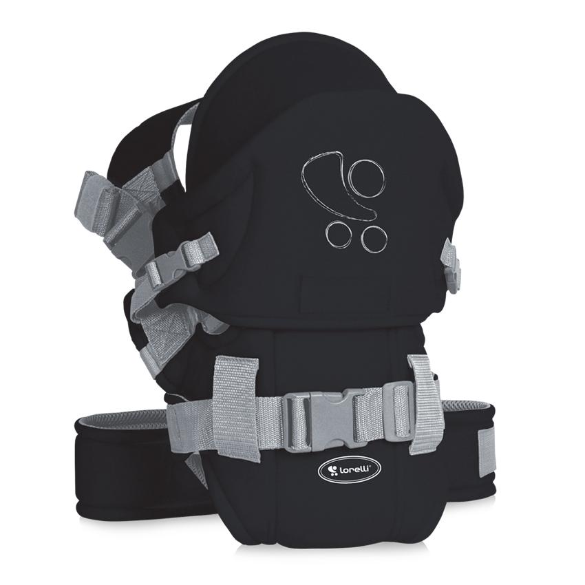 Nosič na dítě TRAVELLER COMFORT BLACK LORELLI