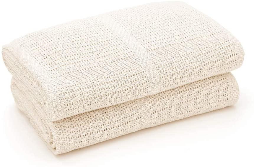 Detská bavlnená deka Lorelli 75x100 cm CREME