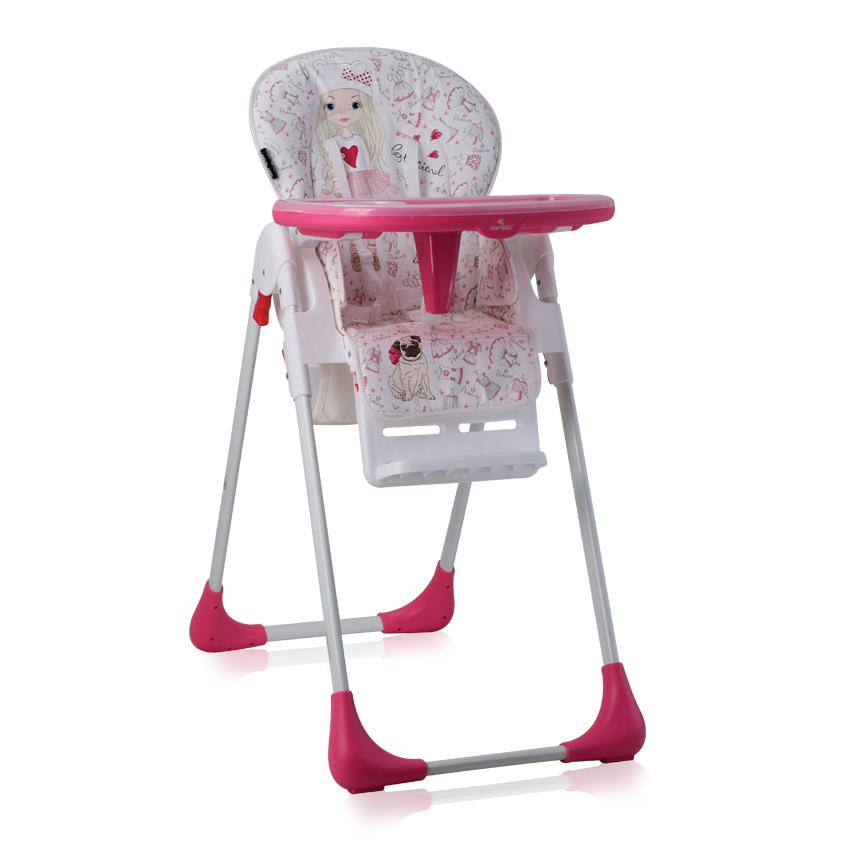 Jídelní židlička TUTTI FRUTTI PINK GIRL