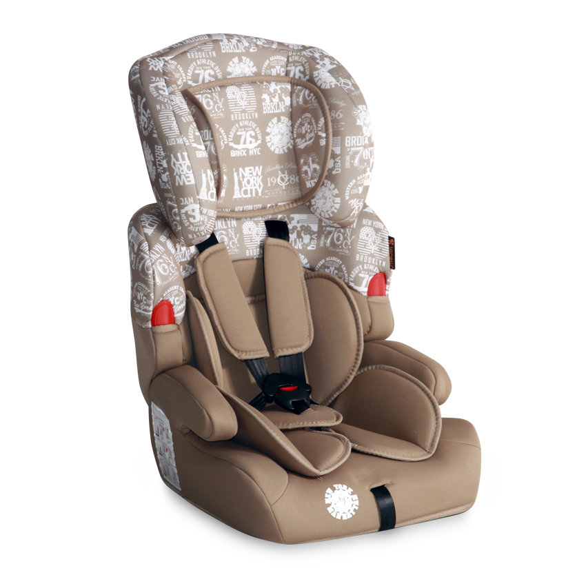 Autosedačka Lorelli KIDDY 9-36 KG DARK&LIGHT BEIGE