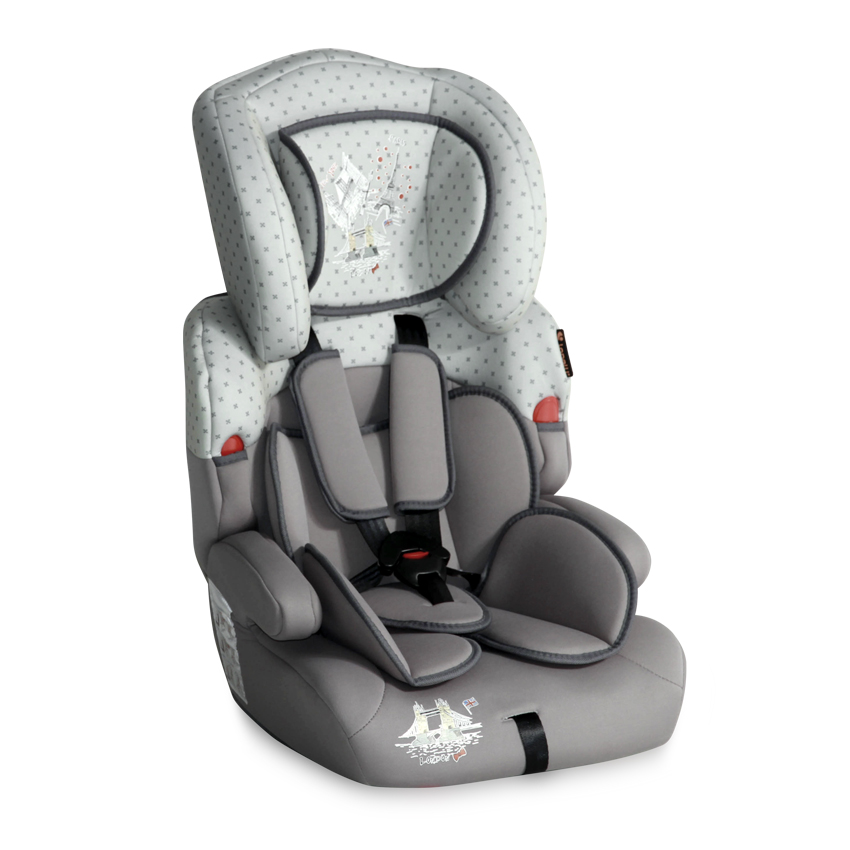 Autosedačka Lorelli KIDDY 9-36 KG GREY TRAVELLING
