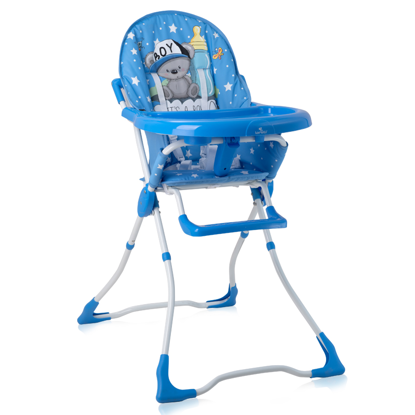 Jídelní židlička Lorelli MARCEL BLUE BABY BOY