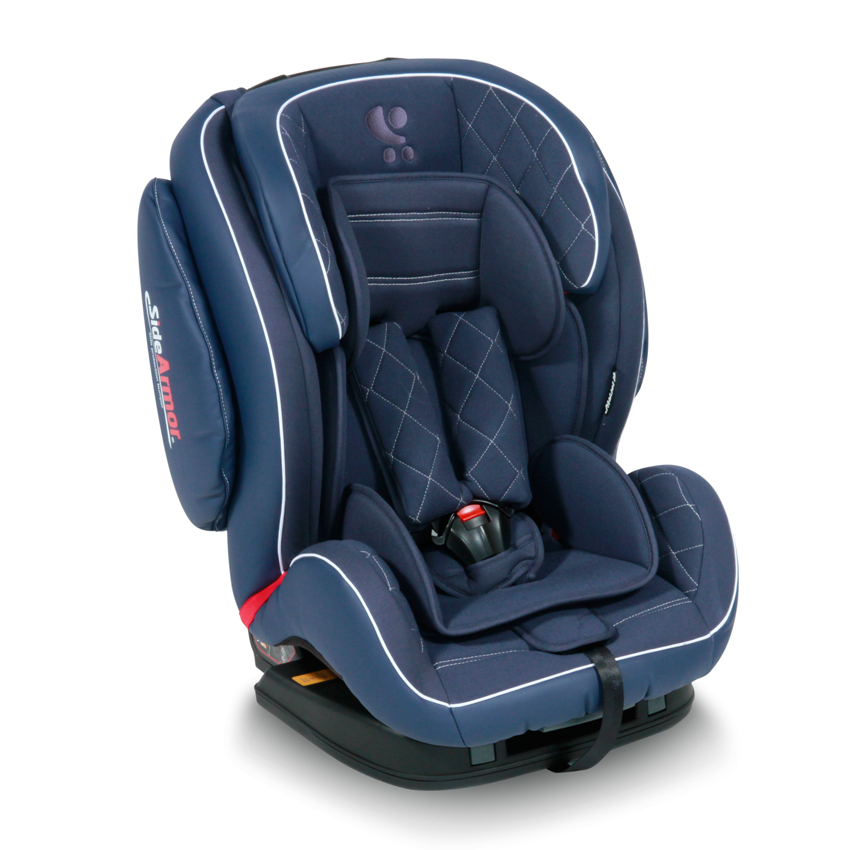Autosedačka MARS ISOFIX DARK BLUE LEATHER 9-36 KG