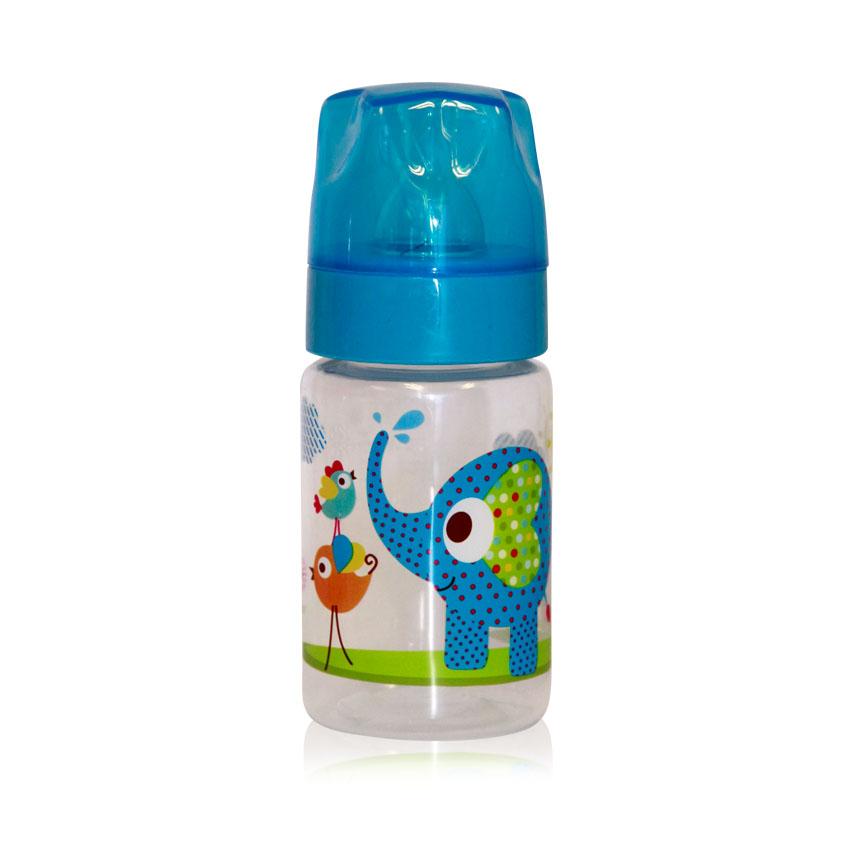 Fľaša Lorelli 125 ML ZOO BLUE