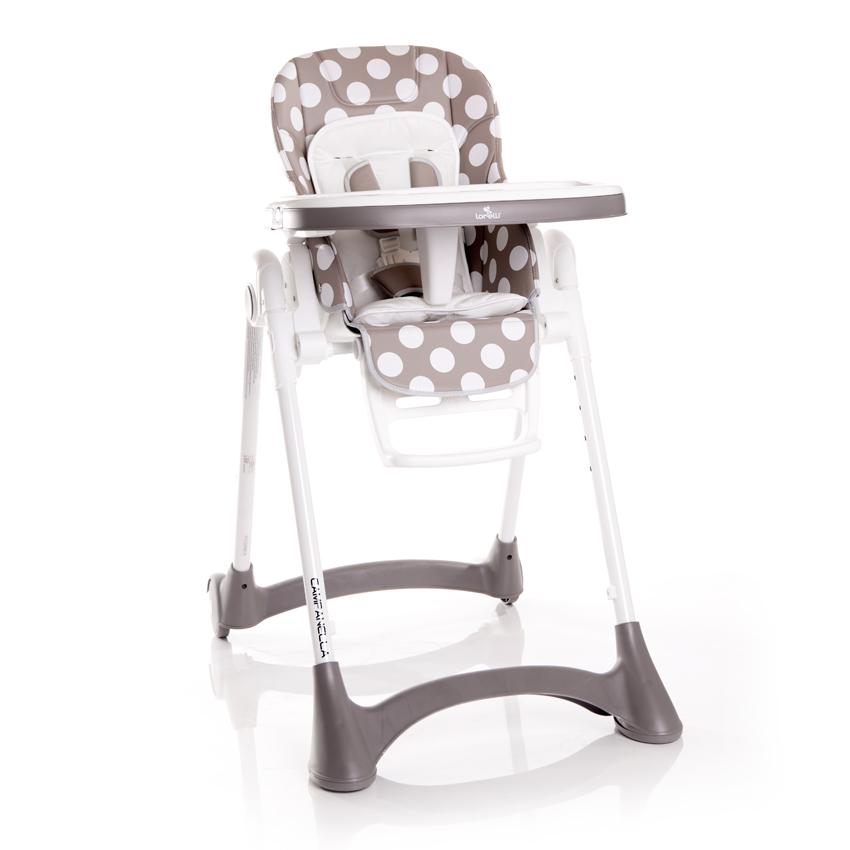 Jídelní židlička CAMPANELLA BEIGE DOTS