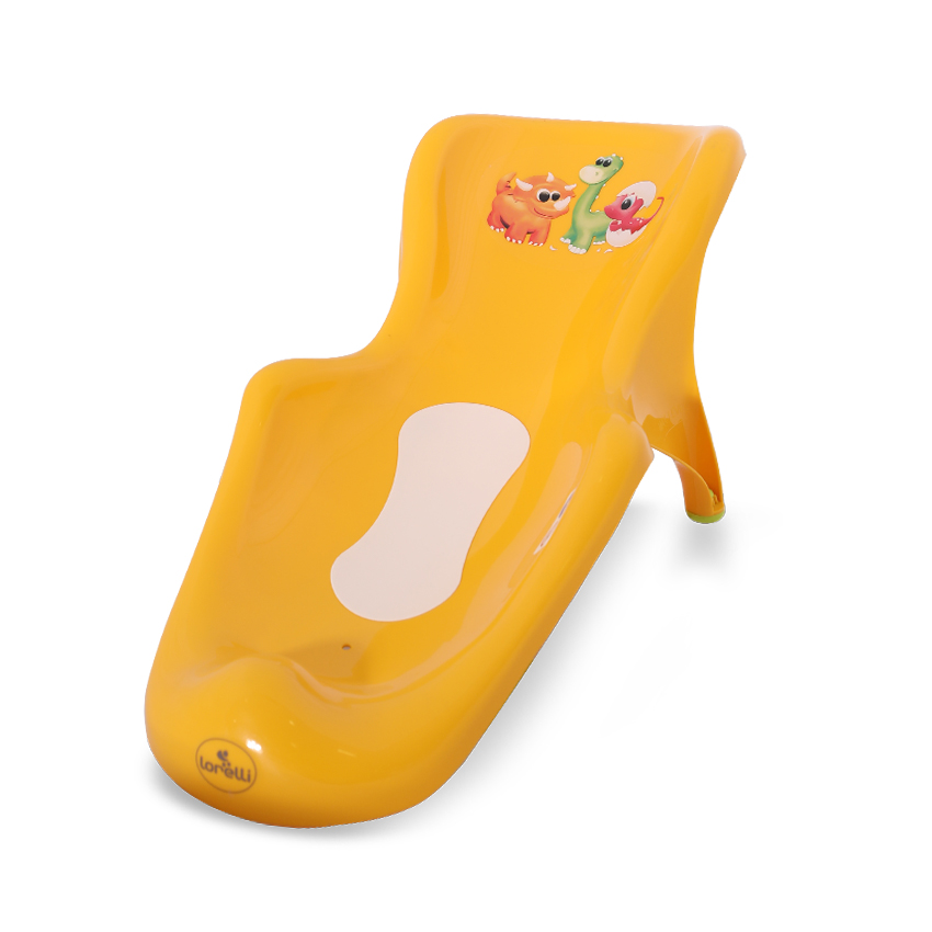 Dětská vaničkaPAD PLASTIC WITH ANTI SLIP MAT ORANGE DINO
