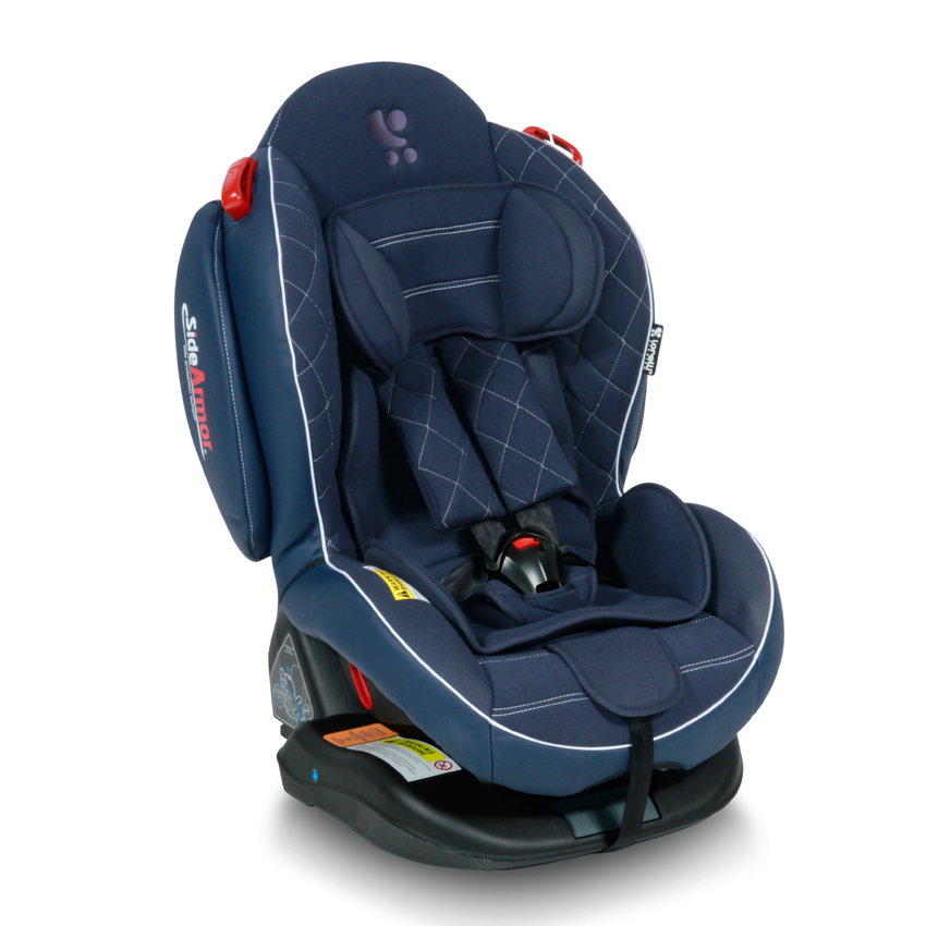 Autosedačka Lorelli ARTHUR ISOFIX DARK BLUE LEATHER 0-25 KG