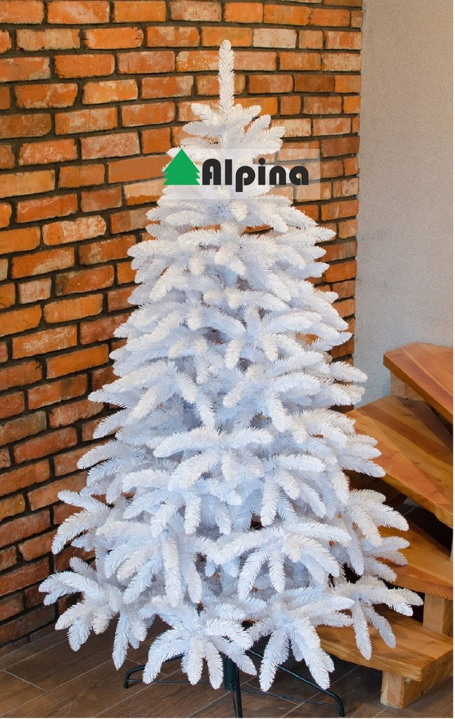 Vánoční stromek Alpina BÍLÝ SMRK, výška 120 cm