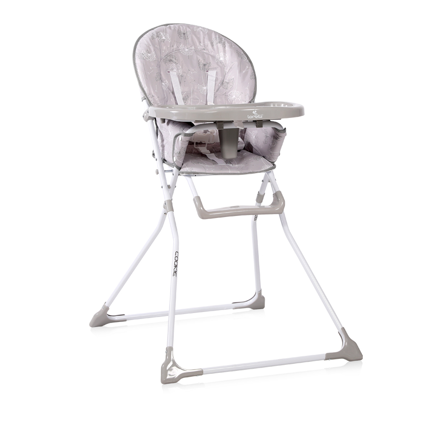 Jídelní židlička Lorelli COOKIE GREY DANDELIONS