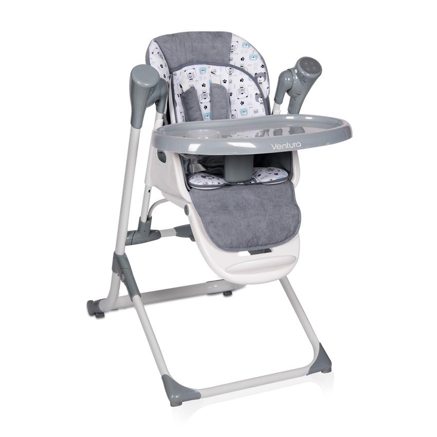 Jídelní židlička VENTURA GREY