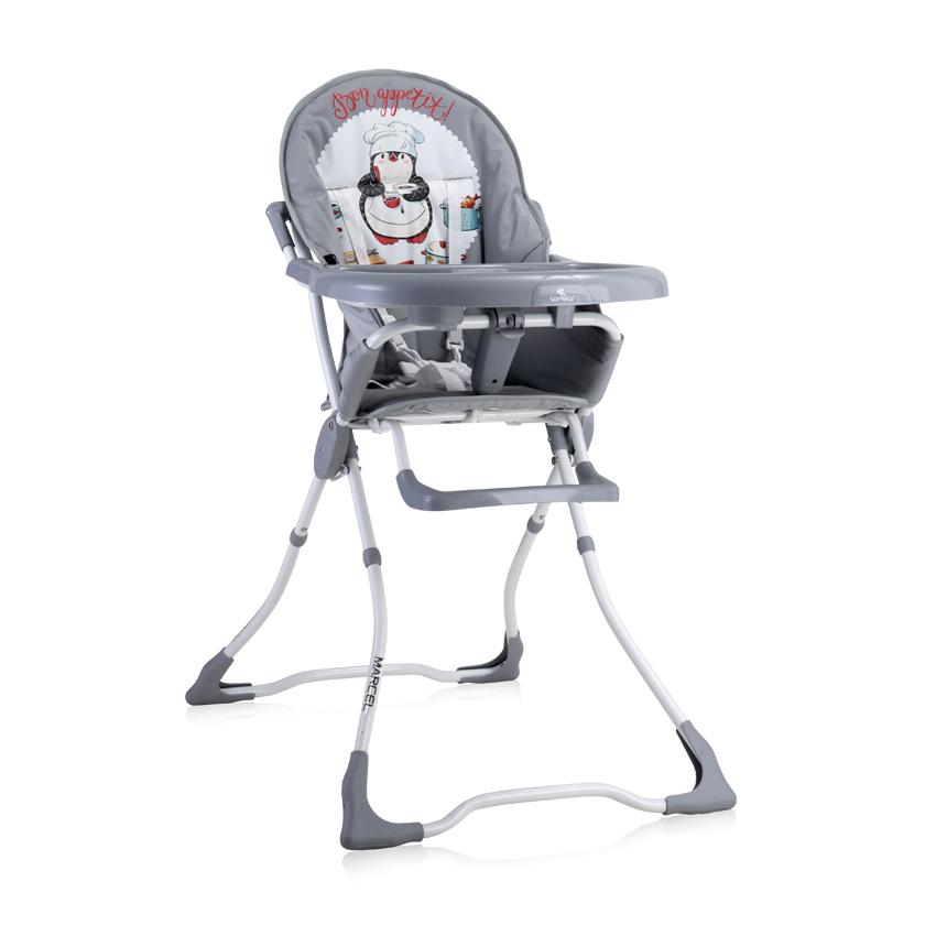 Jídelní židlička MARCEL GREY PENGUIN