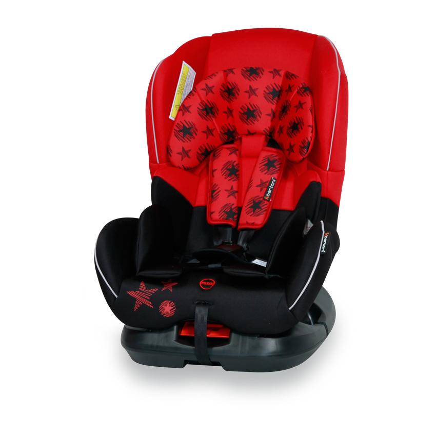 Autosedačka CONCORD 0-18KG BLACK&RED STARS