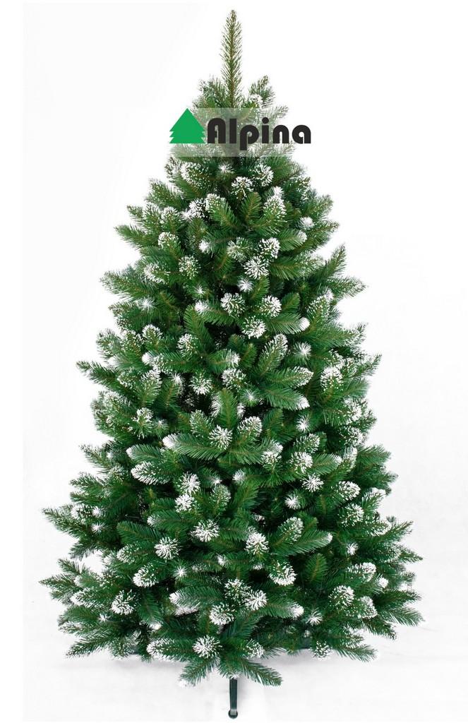 Vánoční stromek Alpina ZASNĚŽENÁ BOROVICE, výška 120 cm