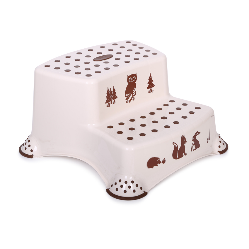 Krok stolička DOUBLE FOREST CAPPUCCINO