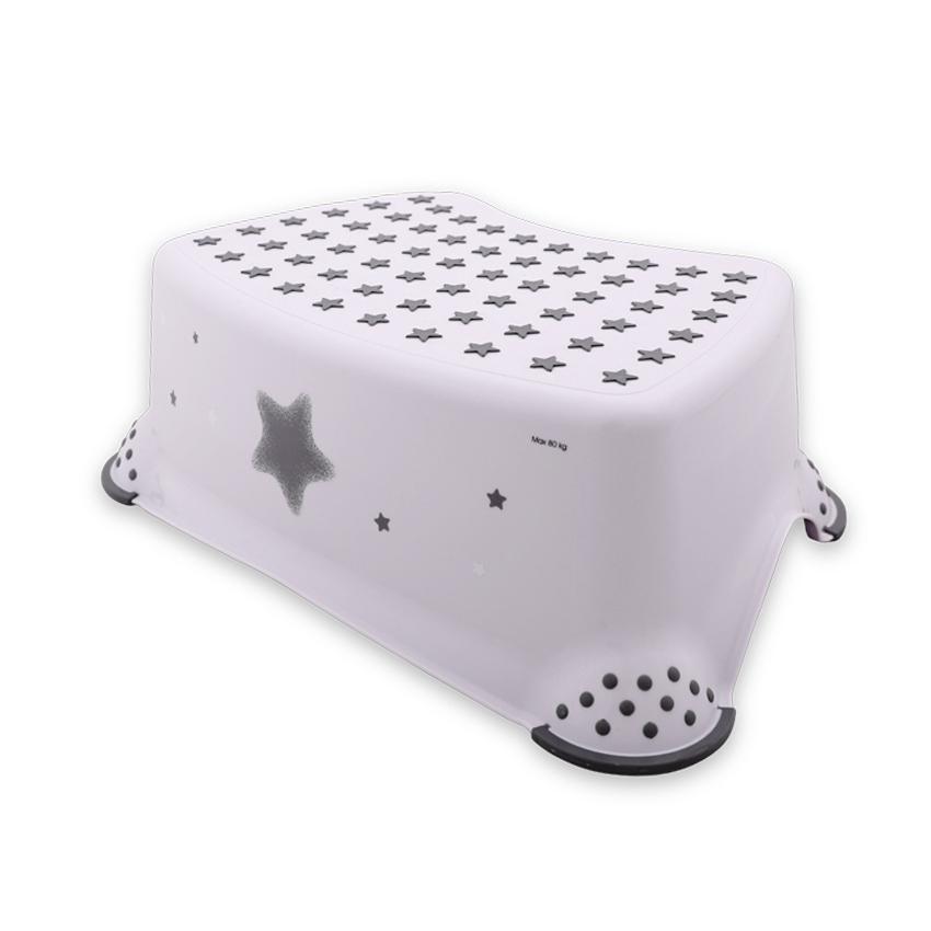 Krok stolička STARS WHITE