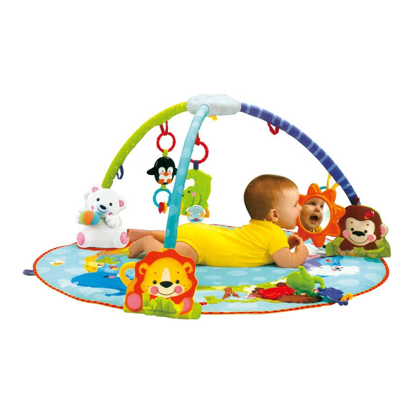 Hrací deka BABY PLAY GYM LUX