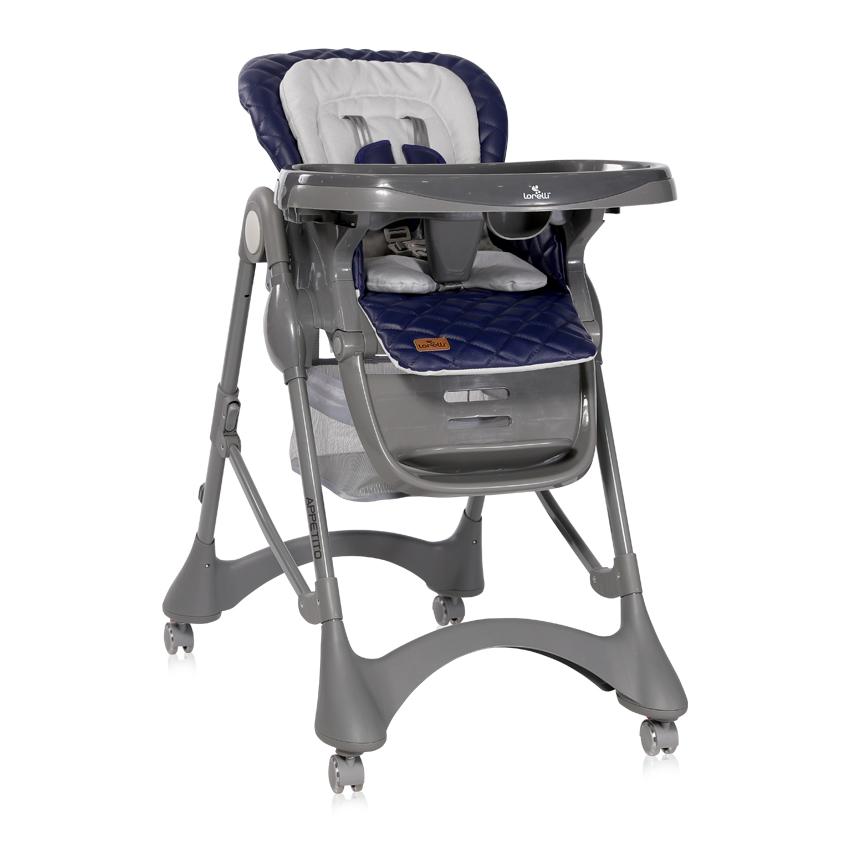 Jídelní židlička APPETITO DARK BLUE