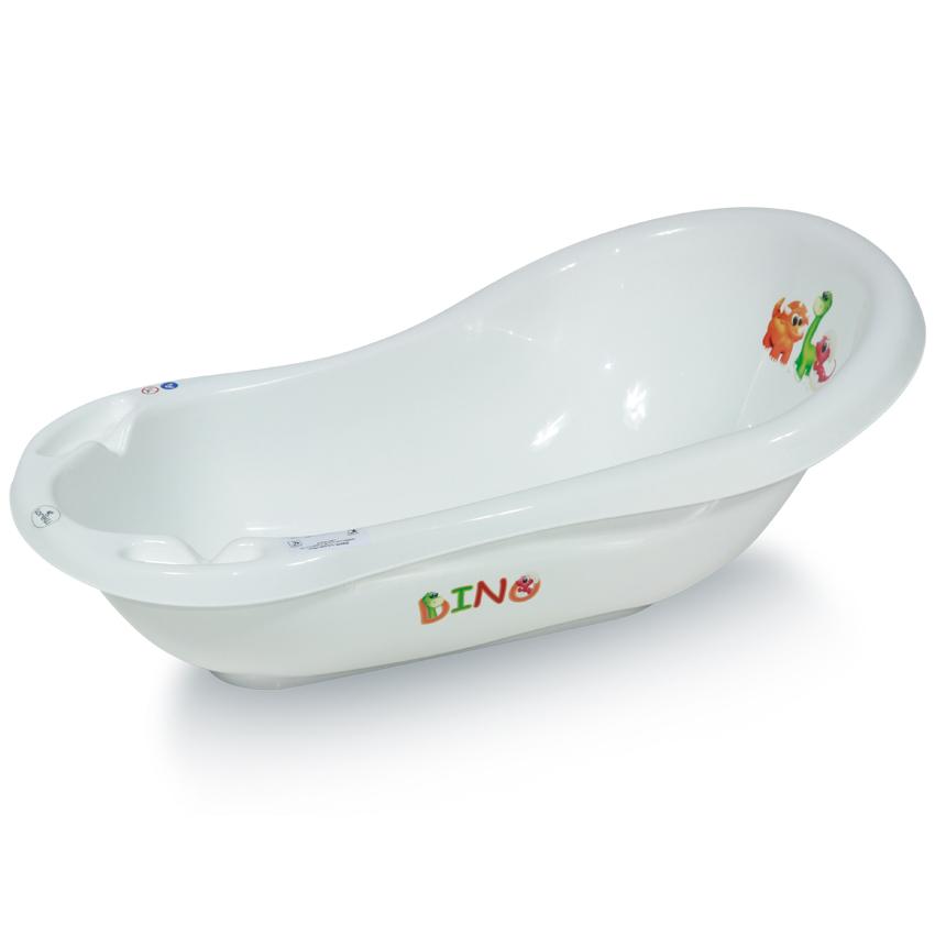 Dětská vanička 84 WHITE DINO