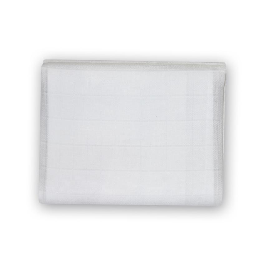 Přikrývka MUSLIN SWADDLE Přikrývka  90X90 WHITE
