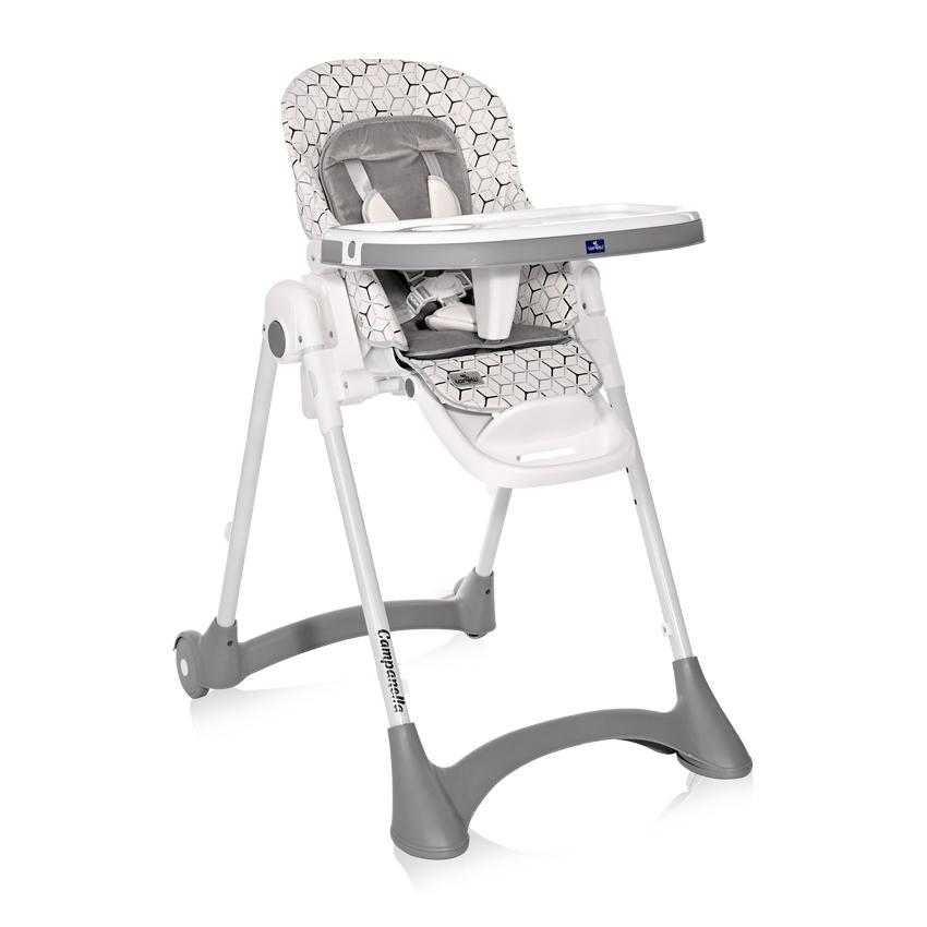 Jedálenská stolička Lorelli CAMPANELLA GREY NET
